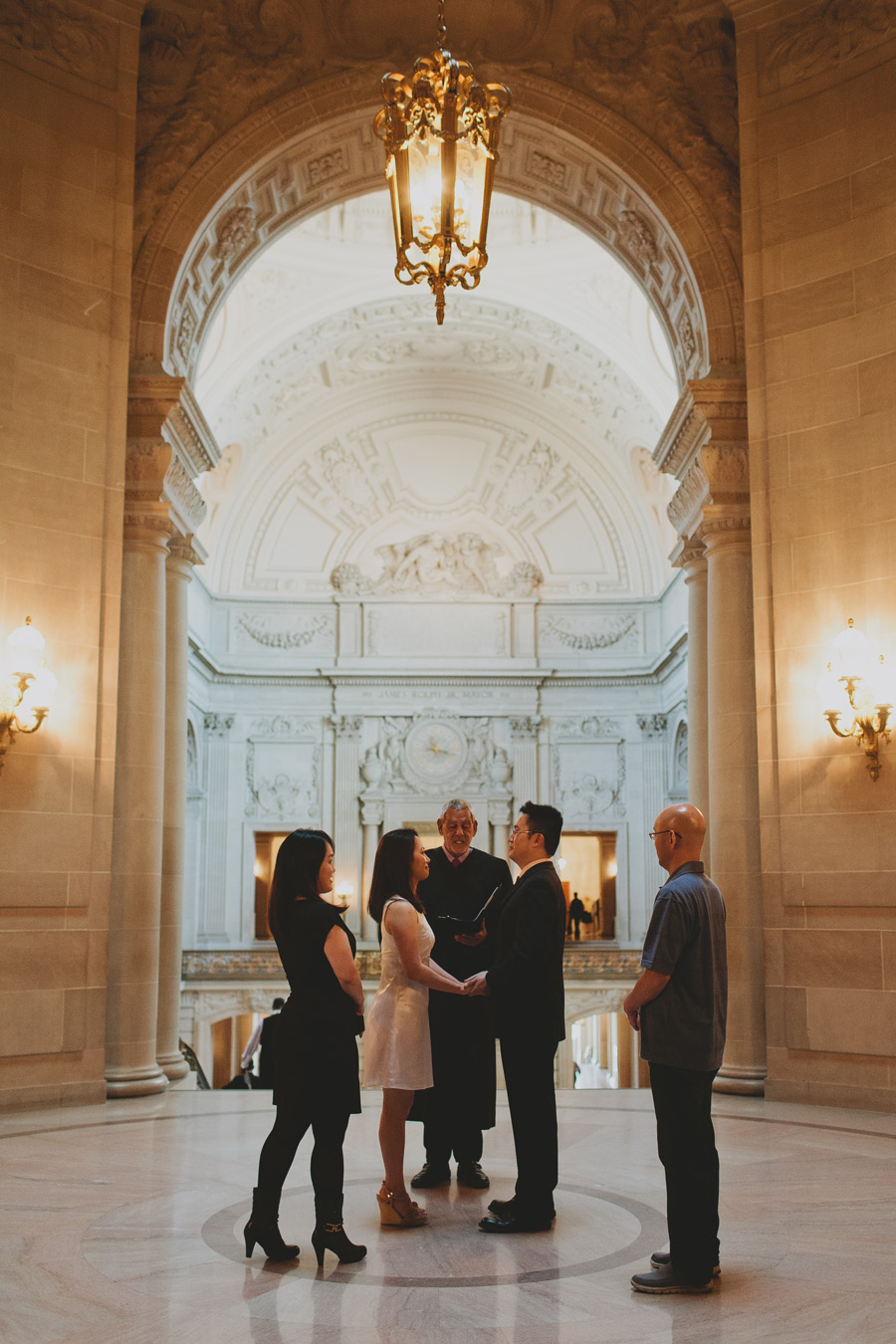 san fran city hall wedding