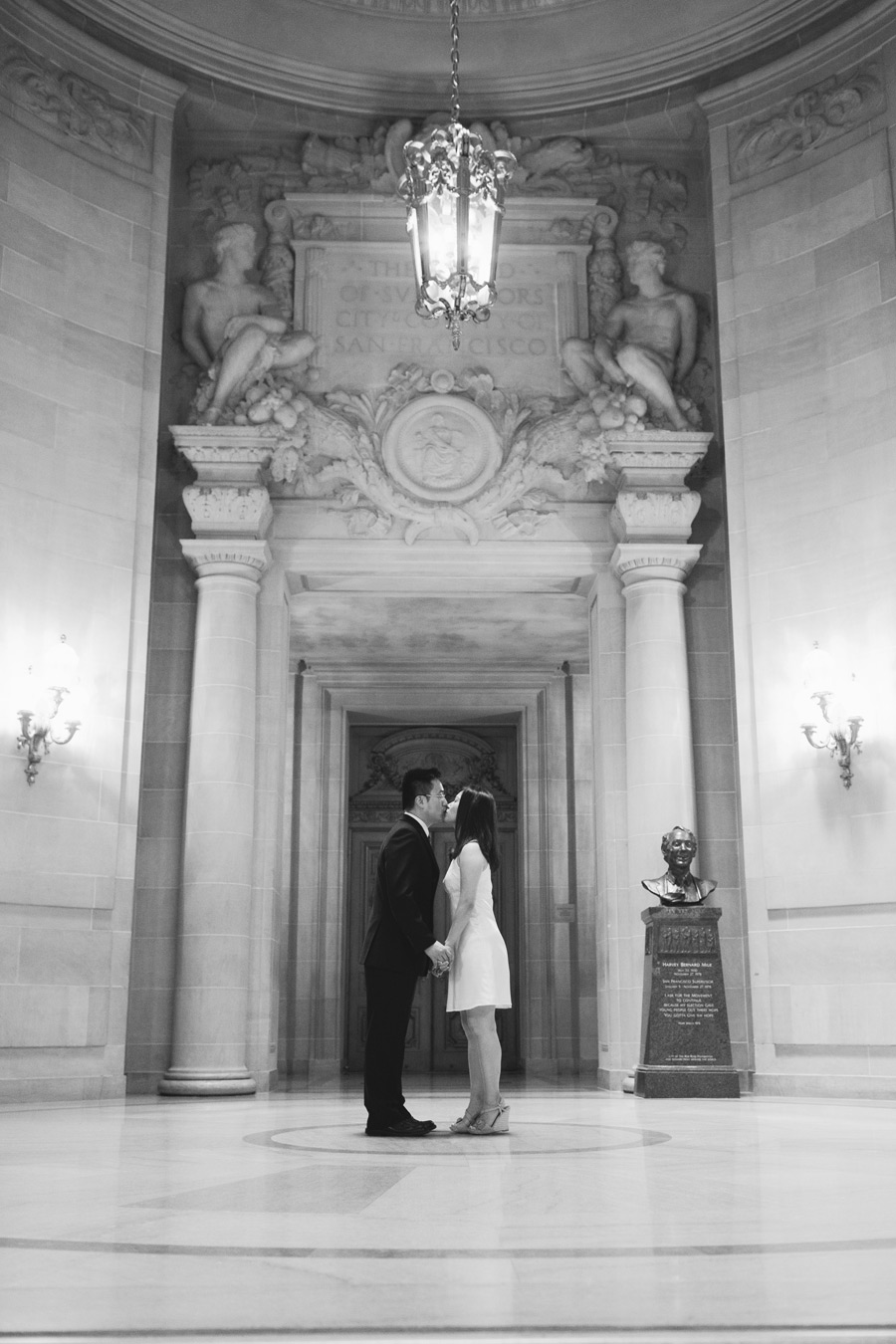 san fran city hall wedding photographer