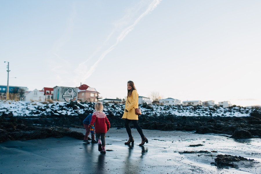 Reykjavik family photo shoot