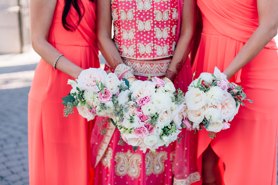 flower time wedding bouquets