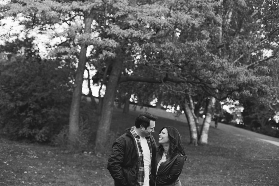High Park engagement portraits