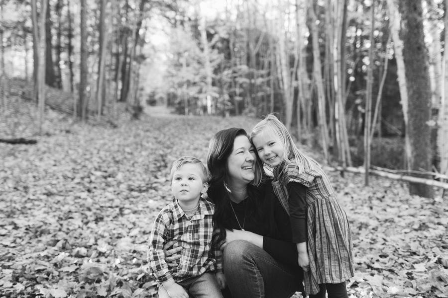 outdoor family photos orangeville