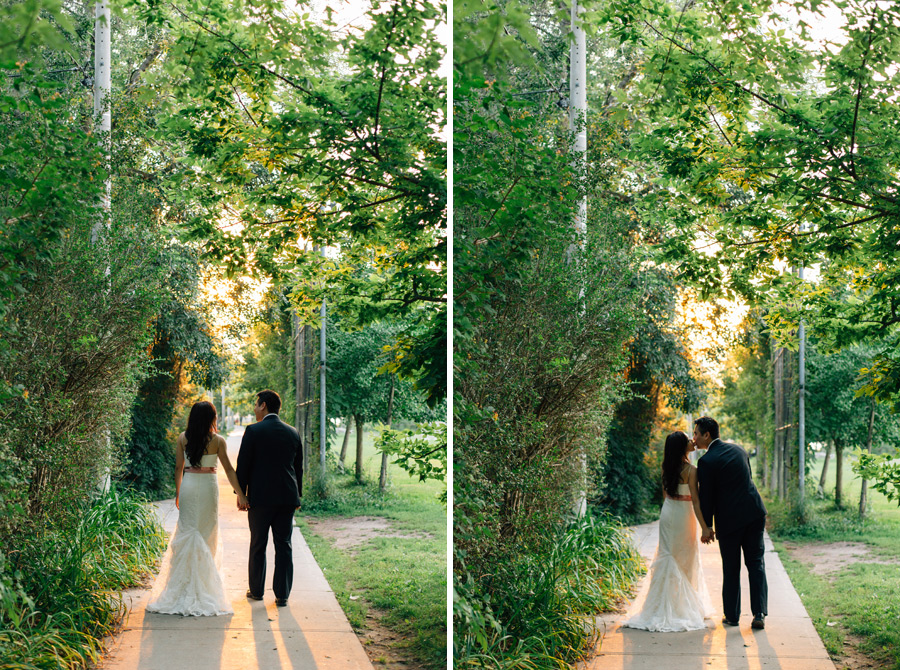 Toronto island wedding pictures