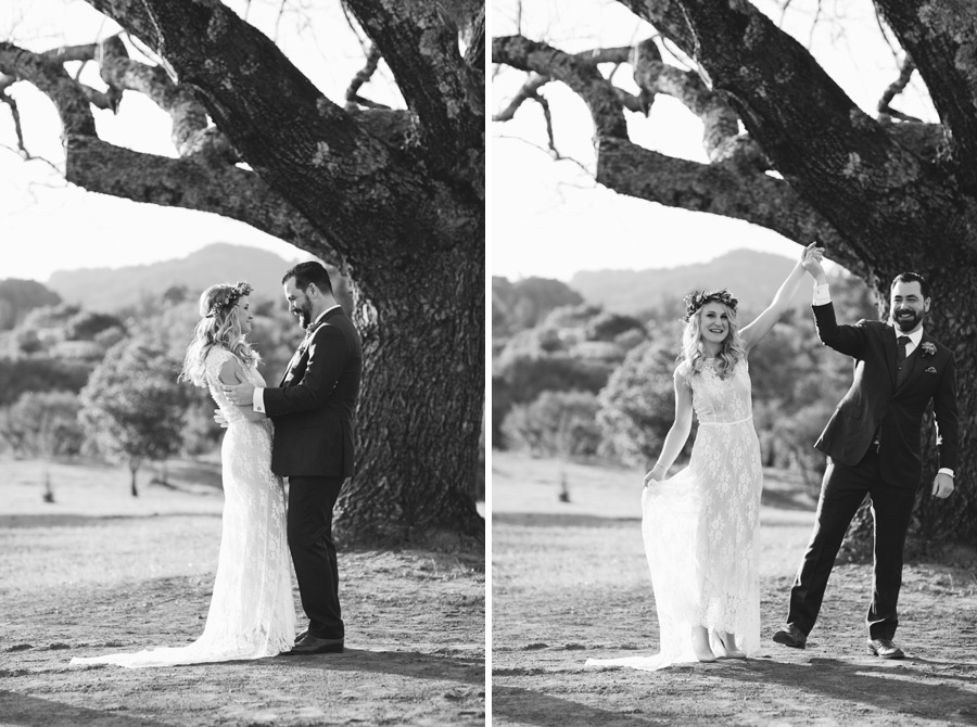 Calistoga winter wedding