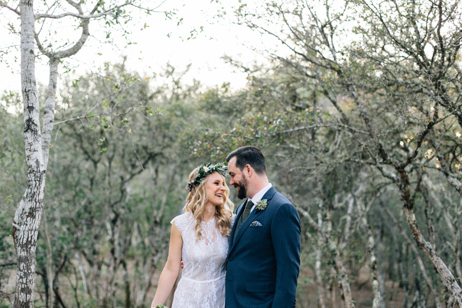 Triple S ranch Calistoga wedding