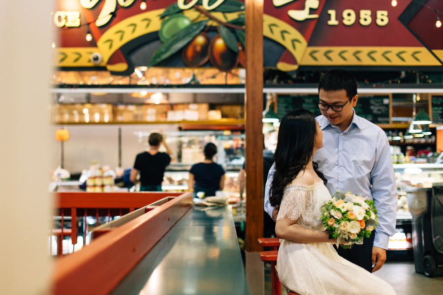 st Lawrence market engagement pictures