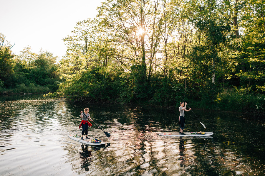 Paddle board engagement pictures