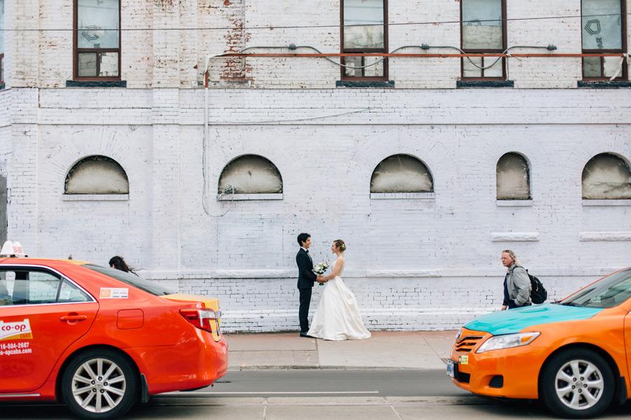 Urban locations wedding photos Toronto