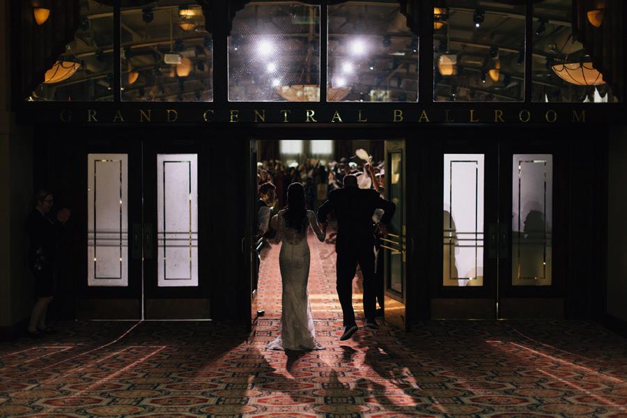 Liuna Station Wedding reception