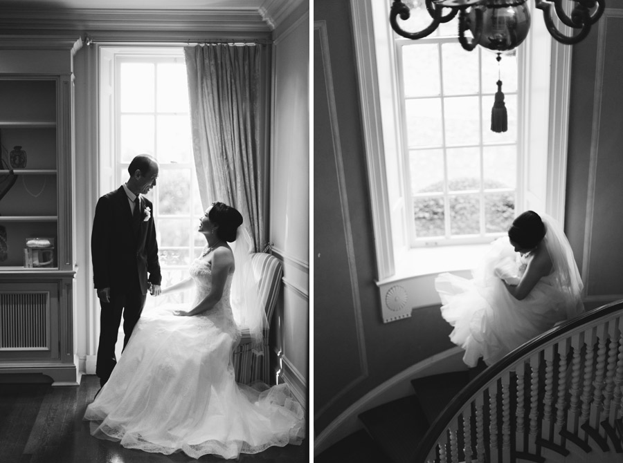 estates of sunnybrook mclean house wedding
