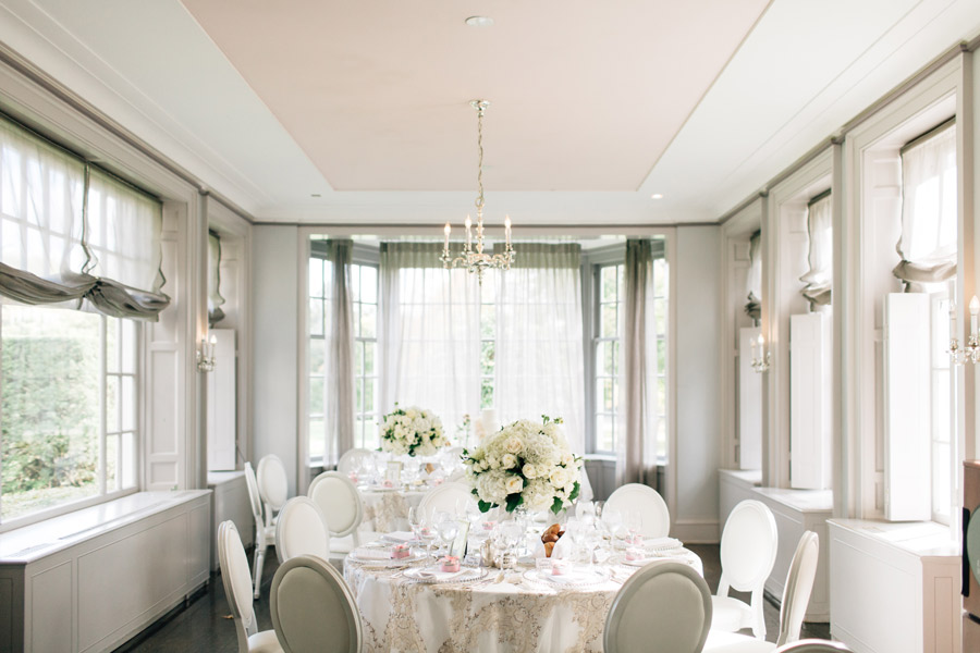 McLean House wedding reception