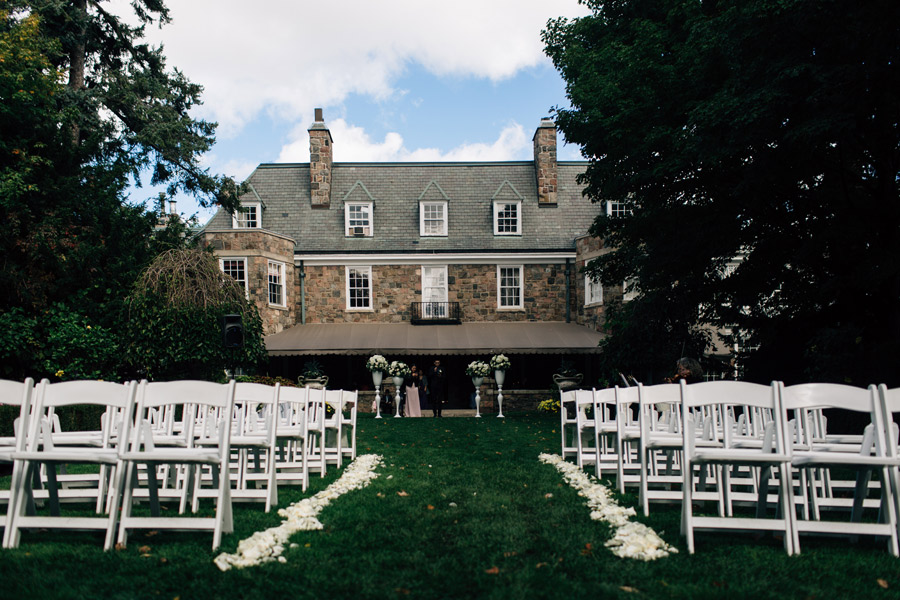 McLean House wedding ceremony