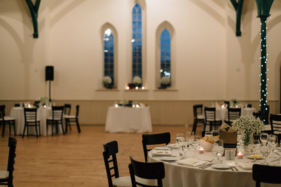Wedding reception at Enoch Turner schoolhouse