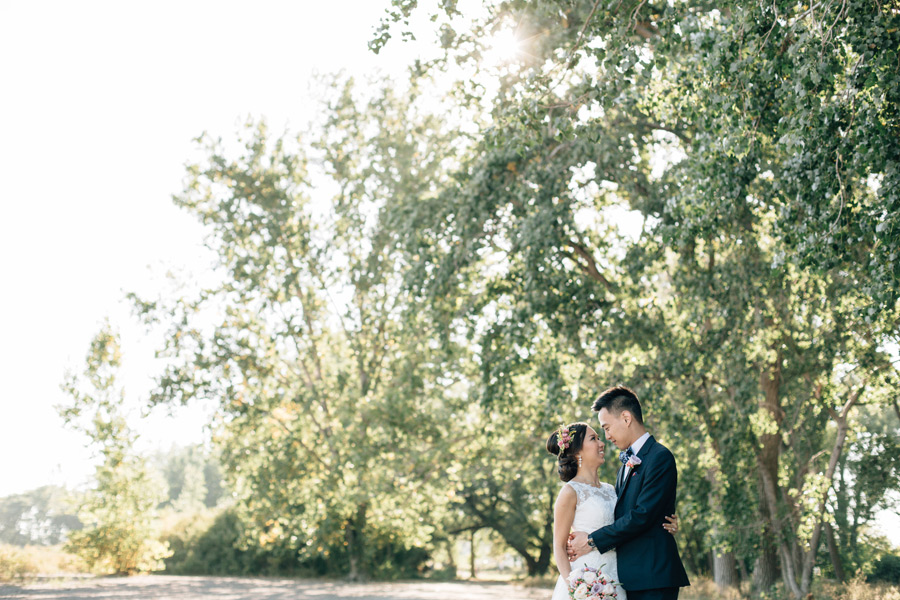 Cherry beach wedding photos