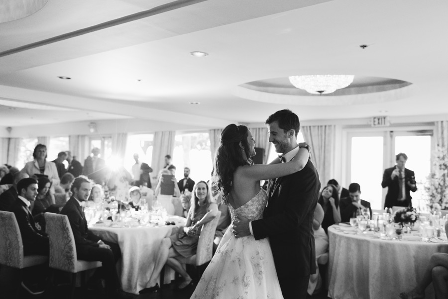 Toronto Hunt club wedding reception