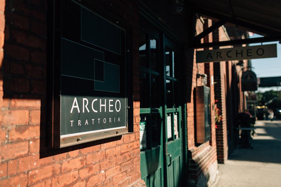Archeo restaurant Toronto