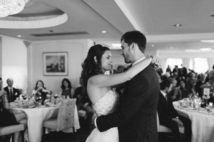 wedding reception at Toronto Hunt Club