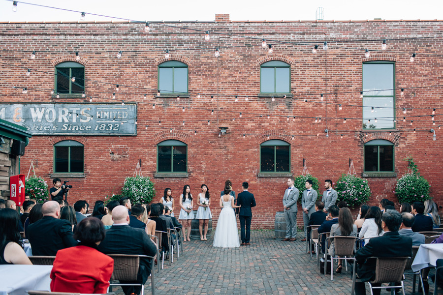 Archeo wedding distillery district