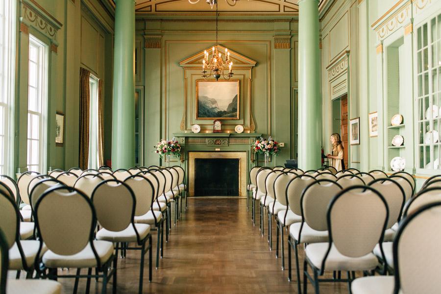 classic indoor wedding venue University Club of Toronto