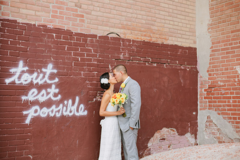 evergreen brickworks wedding photos