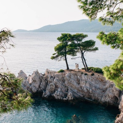 Skopelos Wedding Photographer Greek Islands Jo Dan