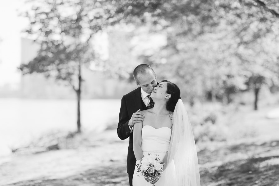 candid wedding portraits