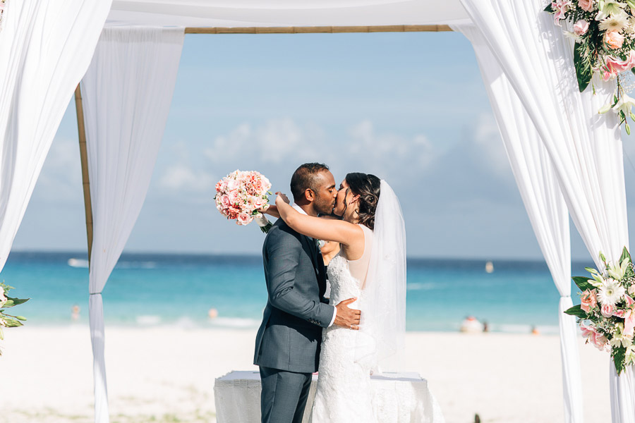 mayan riviera wedding photos