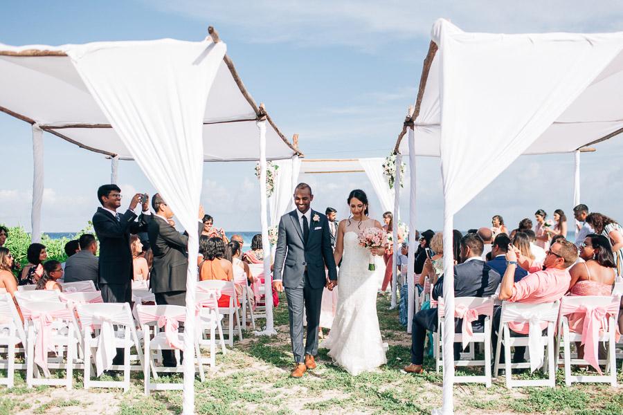 Sandos playa del carmen wedding