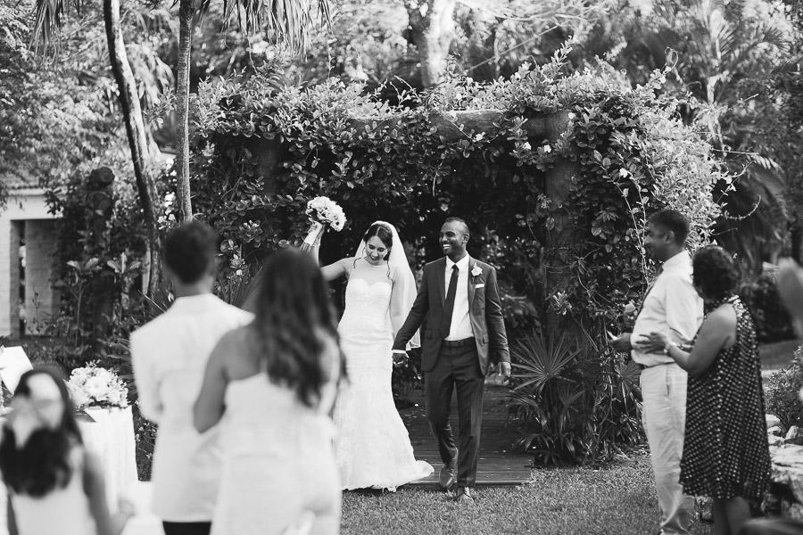 Sandos Playacar beach resort wedding reception