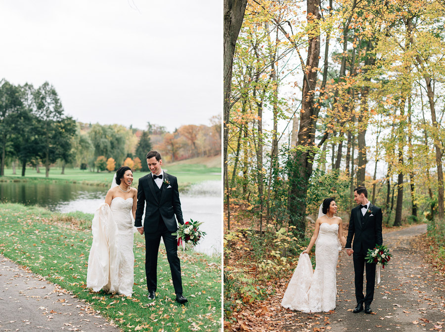 credit valley golf and country club wedding photos