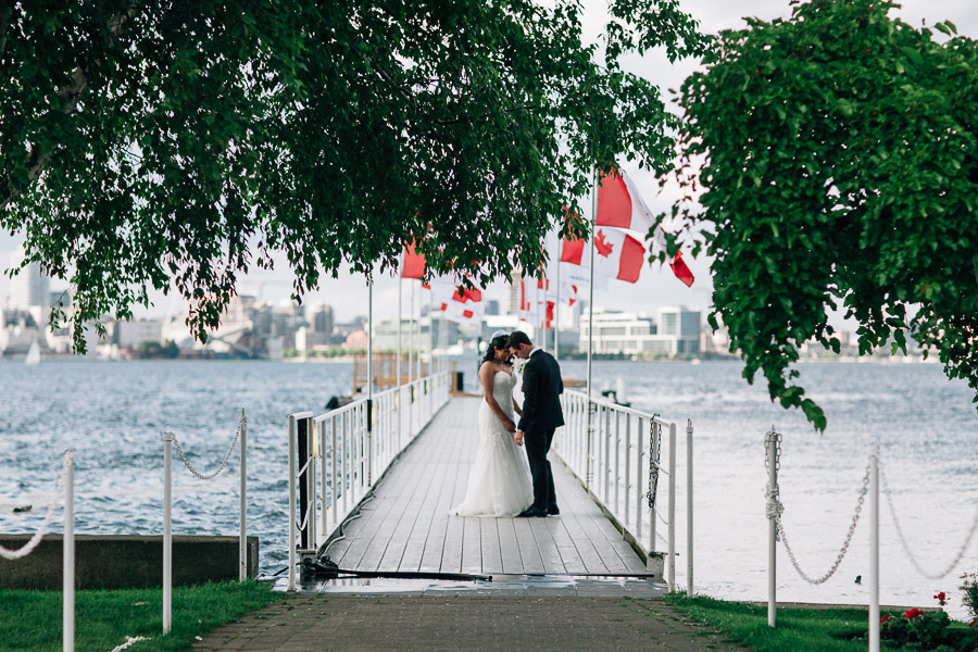 Royal Canadian Yacht Club wedding