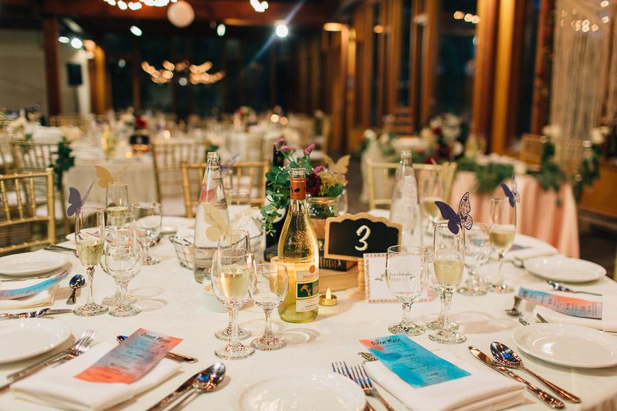 wedding reception at Kortright Centre