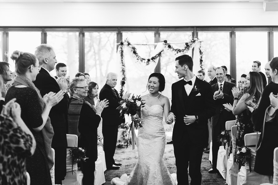 credit valley golf and country club wedding ceremony