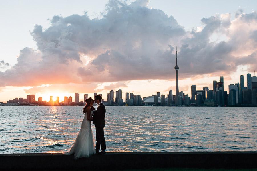 Toronto Island wedding RCYC