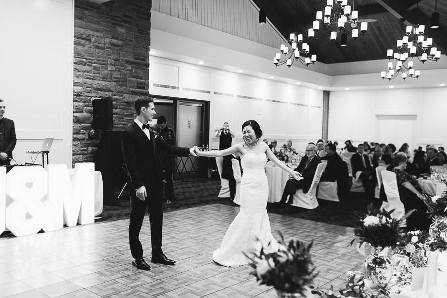 credit valley golf and country club wedding reception