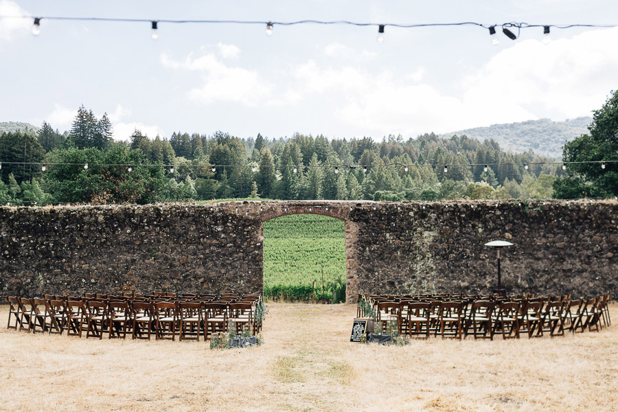 Jack London State Historic Park wedding ceremony