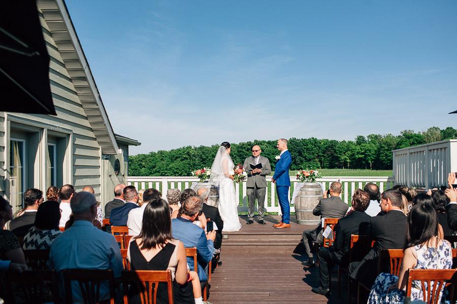 Vineland Estates wedding ceremony