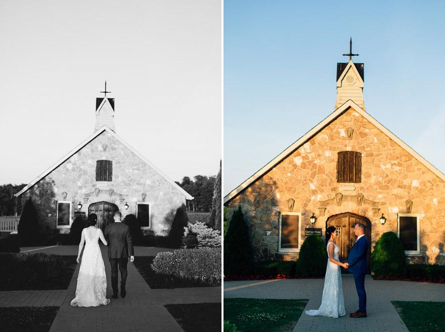 vineland estates wedding coach house